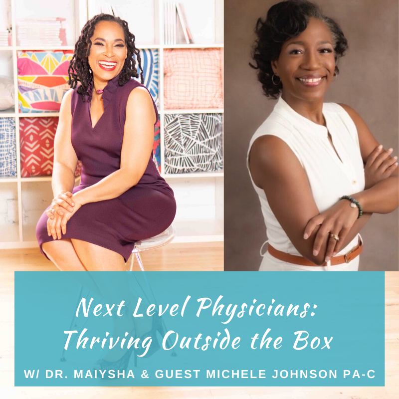 Podcast: Turning Pain into Passion: A Conversation w/Michele Johnson on How Her Personal Illness Became Her Why to Thrive